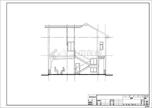 2层别墅自建筑农村结构建房,全套,别墅施工图观塘水电香港v别墅案例图片
