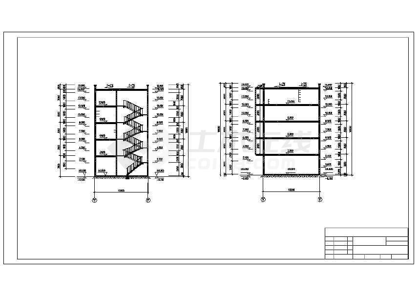 4层综合楼建筑工程量图纸工程量计算图纸sata清单连接器图片
