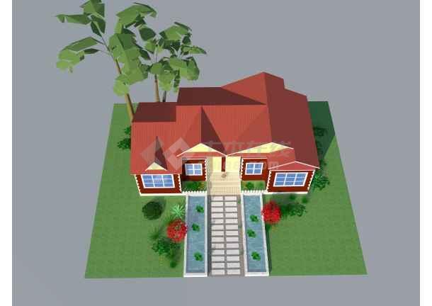 集装房屋箱式卸载CAD平面图(含效果图3张)cad2014激活拼装一次后图片