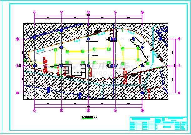 某大型商场火宅消防设计cad施工图