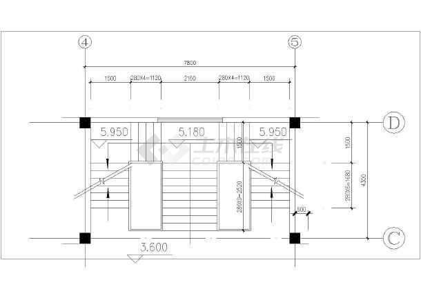 三层楼图纸详细设计cad组件施工楼梯_cad图纸su导入cad图纸大样为图片