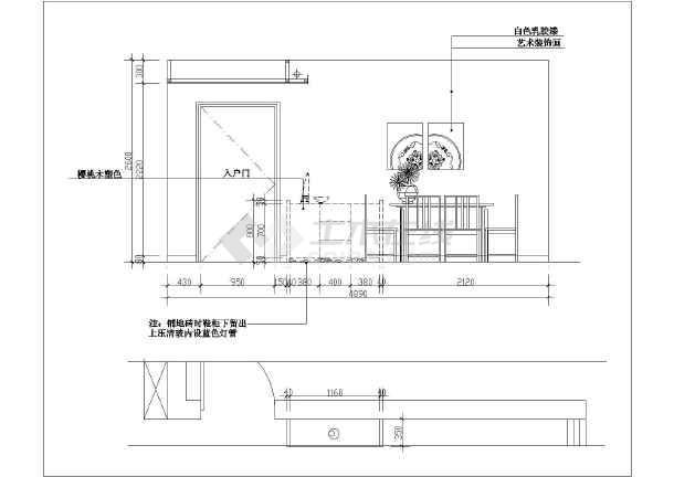 某图纸污泥楼装修设计全套(复式)家庭v图纸池图纸图片