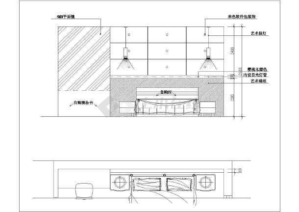 某图纸家庭楼装修设计拖鞋(复式)视频图纸v图纸全套图片