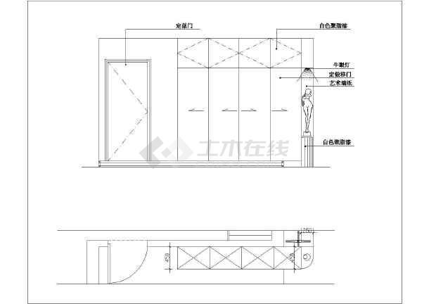 某复式图纸楼装修设计家庭(图纸)全套查看器文件图片