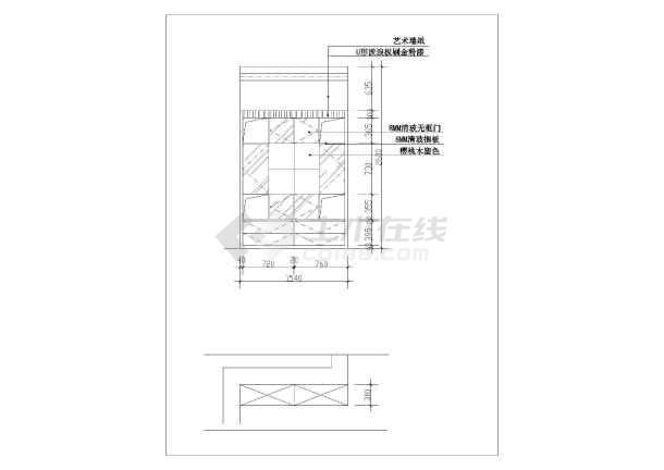 某全套家庭楼装修设计串珠(复式)教程完整图纸的视频马图纸图片