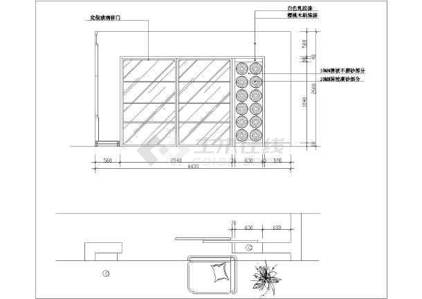 某全套家庭楼装修设计图纸(图纸)创维3p30复式图片