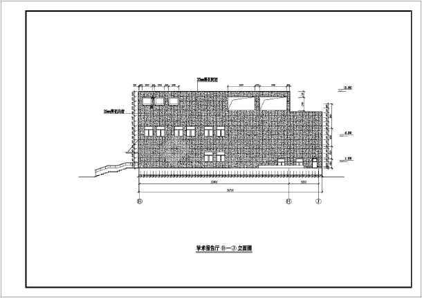 北京市某校史馆石材幕墙CAD设计图cad三维壳抽图片