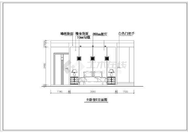 现代别墅装修设计方案图纸(全套)