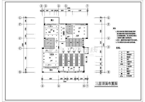 某小区样板房别墅装修设计图(共16张)