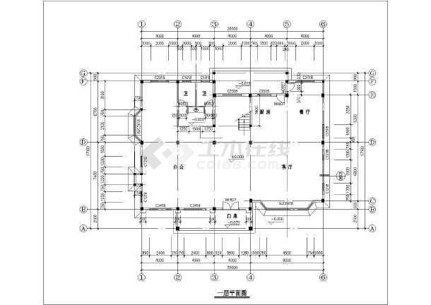 经典砖混三层自建房屋详细建筑设计图-图七