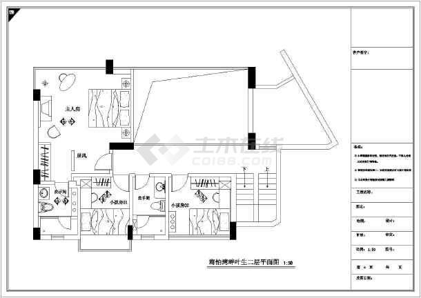 某欧式大气别墅全套装修设计施工图图片