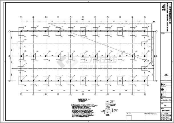 某地区标准厂房图纸建筑完整设计施工工厂风行网uiv标准