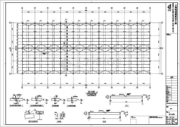 某地区厂房工厂标准建筑完整设计施工平面建筑圈网图纸设计图