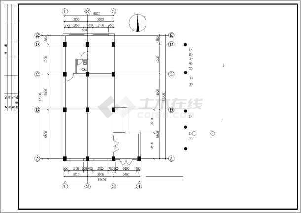 药店仓库平面图  所属分类: 建筑图纸   商业建筑   超市设计   立即