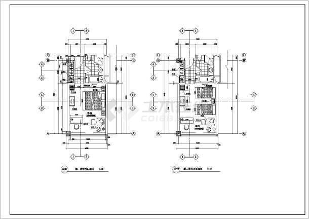 酒店客房平面设计图