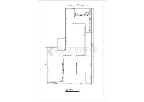 某两室两厅家装装修设计图(共9张)