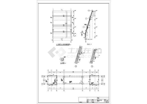 汉式古建筑大门口建筑结构全套施工图