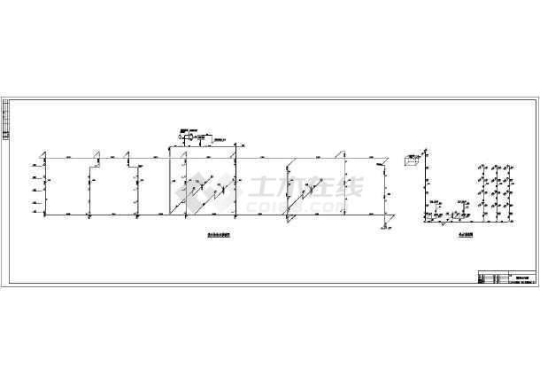 湖南某中学实验大楼给排水cad施工图-图3