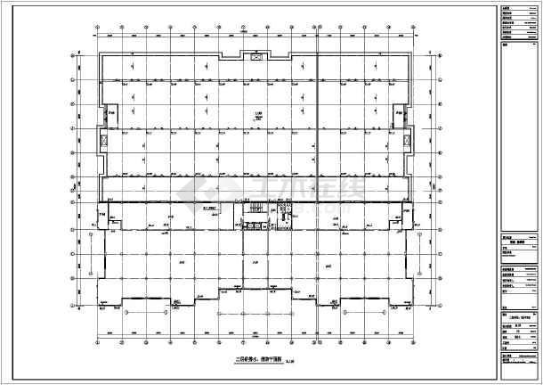 某地区展示厅给排水消防喷淋图(全套)-图1