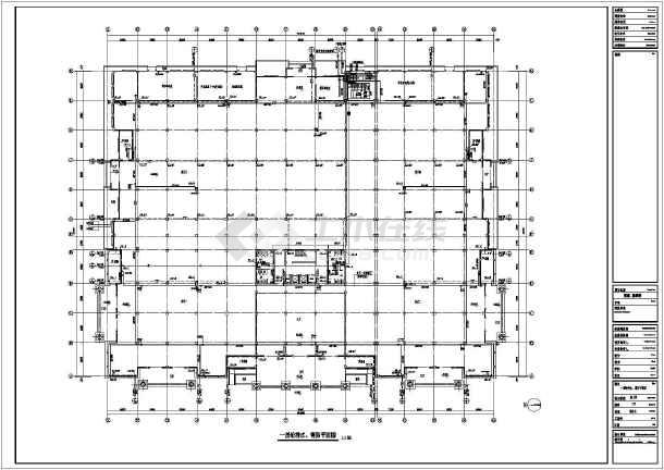 某地区展示厅给排水消防喷淋图(全套)-图2