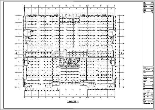 某地区展示厅给排水消防喷淋图(全套)-图3