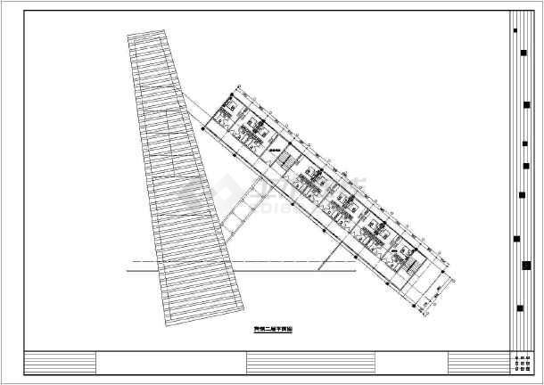 某地大型美术馆建筑cad设计图纸
