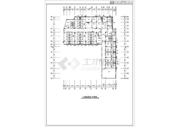 安徽某妇幼保健院综合楼给排水施工图-图2