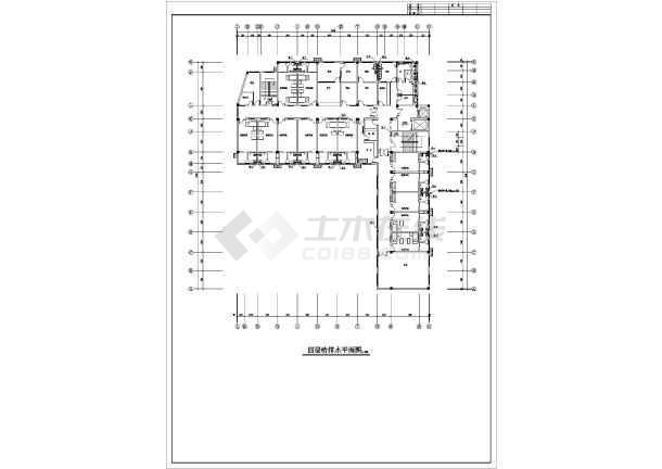 安徽某妇幼保健院综合楼给排水施工图-图3