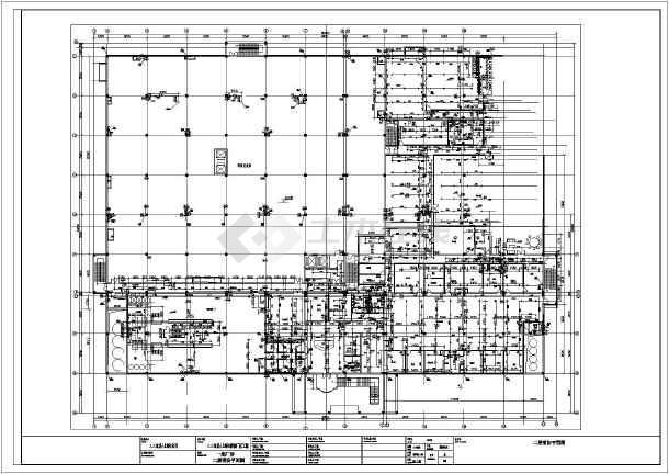 上海市某食品厂消防给排水CAD施工图-图1