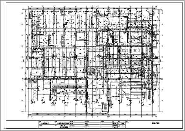 上海市某食品厂消防给排水CAD施工图-图2