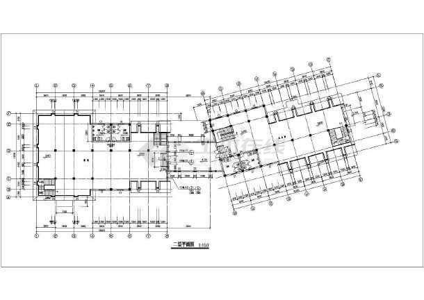 某地400平方米园林礼品店建筑cadv园林市政图纸影楼图纸图片