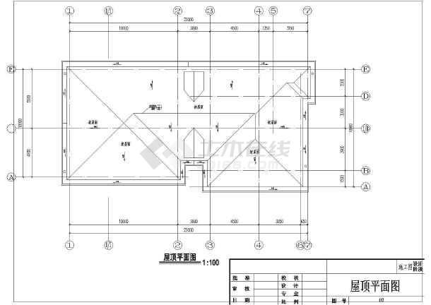 砖混二层实用农村房屋详细建筑设计图-图七