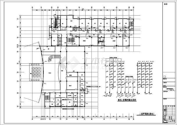 某会议中心给排水CAD设计施工图-图2