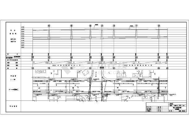 邯郸某大街雨污水管网设计CAD施工图-图3