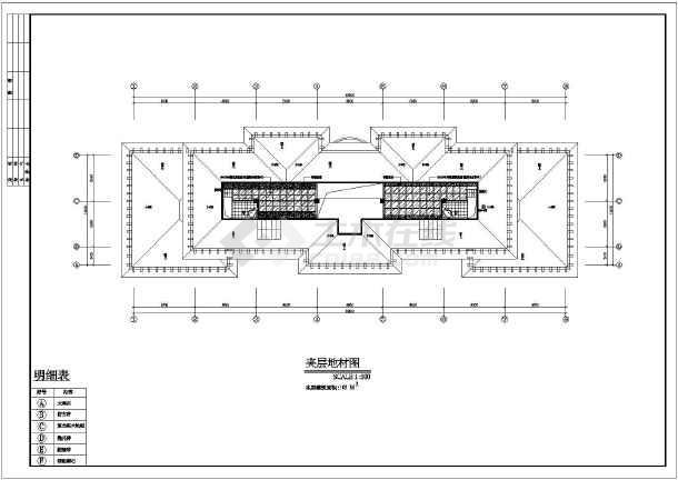 某欧式别墅装修设计平面图纸(全套)