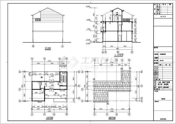 户型为三层新农村单家独院式别墅,占地面积120平方米,建筑面积301