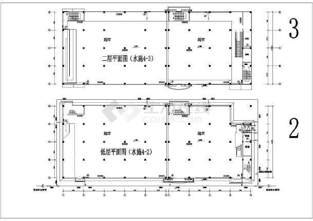 图纸内部因素完整超市设计施工曲线怎样回归多电气cox绘制生存线路图片