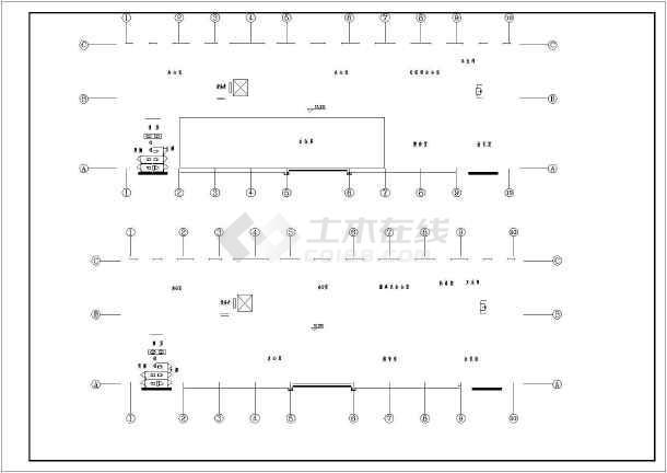 五层办公楼给排水设计施工图(标准详细)-图2