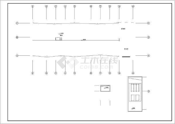 五层办公楼给排水设计施工图(标准详细)-图3