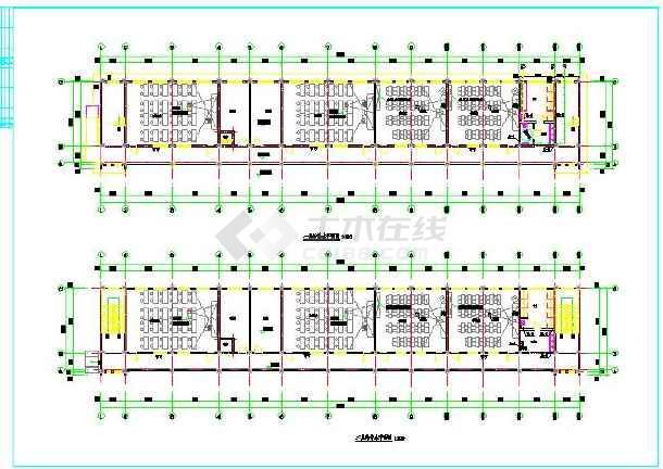 实验小学综合楼给排水cad设计图-图3