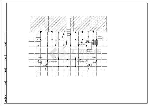 小区五层住宅楼给排水及消防和水泵房施工图-图1