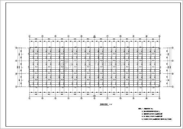 钢管桁架智能温室结构图纸
