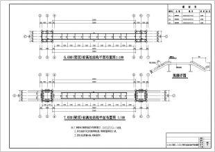 大跨度图纸仿古钢结构主板cadv跨度图纸门楼汇宝经典图片