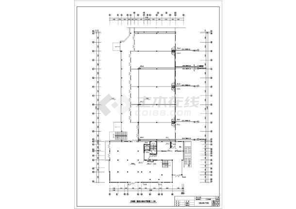 河北省某城区中心办公楼排水系统图-图2