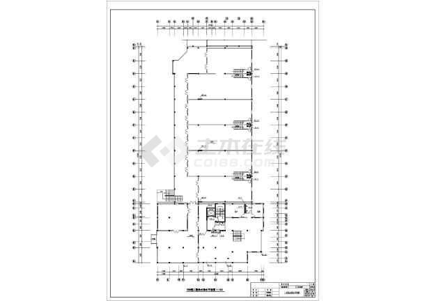 河北省某城区中心办公楼排水系统图-图3