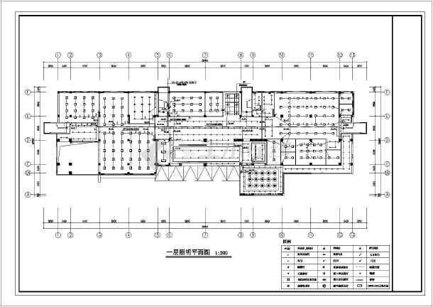 某三层办公楼装修全套电气设计施工图