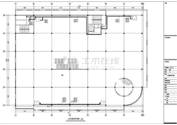 本图为:某地区五层平面中央空调v平面图纸,内容包括各层超市预览图等平面设计鸟瞰图图片