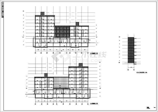 [山东]8层现代病房门诊医技综合楼及方案设计风格图室内设计管理怎么样图片