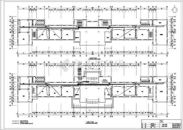某地六层小学教学楼电气设计施工图