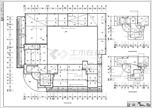 某地区商场电气工程cad施工图纸